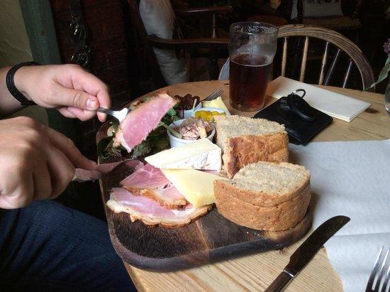 ham ploughman's