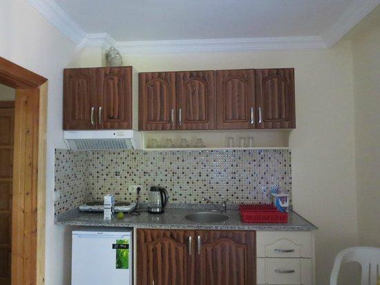 Rose Apartments: Kitchenette