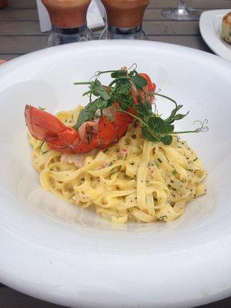 Browns Brasserie & Bar: Lobster Tagliatelle