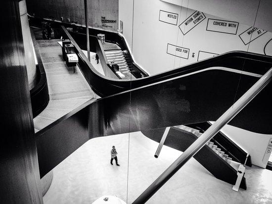 MAXXI - Museo Nazionale Delle Arti del XXI Secolo: Interesting stair designs