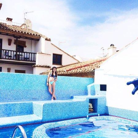 Hotel Enfrente Arte pool
