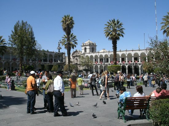 Plaza de Armas: Vista geral da praça