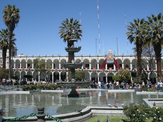 Plaza de Armas: Chafariz