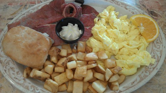 Another Broken Egg Cafe: Country Ham Plate