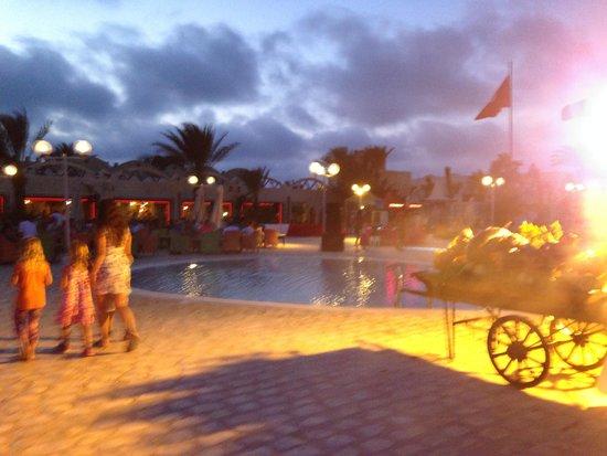 Club Diana Rimel Djerba : 14 juillet, début de soirée
