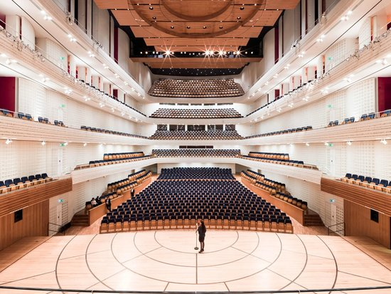 Lucerne Concert Hall at KKL Luzern