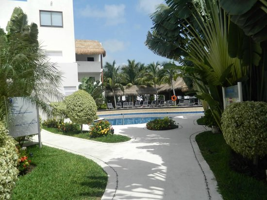 Azul Beach Resort Riviera Maya : View from Villa 7
