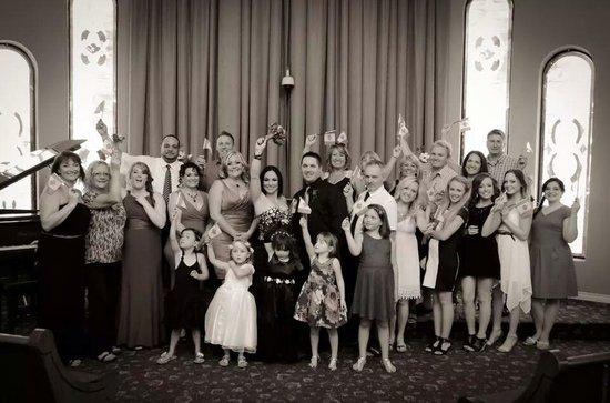 Vegas Weddings: Family Pic
