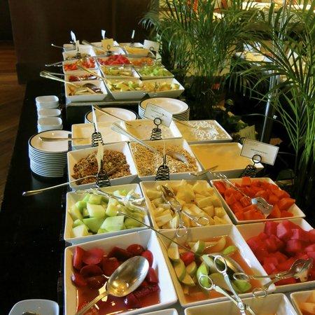 Fairmont Mayakoba: A small part of the huge breakfast buffet.