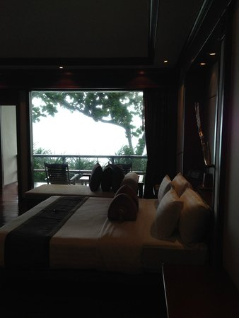 Marina Phuket Resort : ocean view room