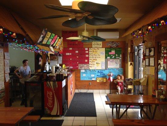 Darwell's Cafe : Just inside the front door