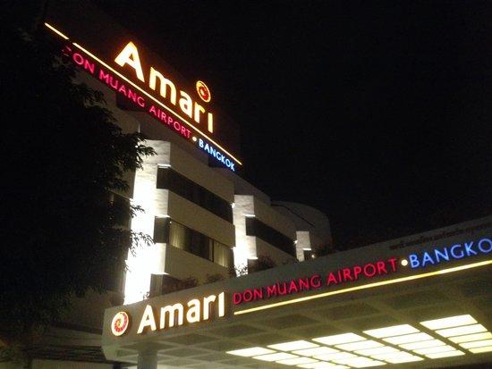Amari Don Muang Airport Bangkok: หน้าโรงแรม