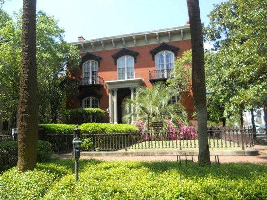 Savannah Historic District : Mercer House