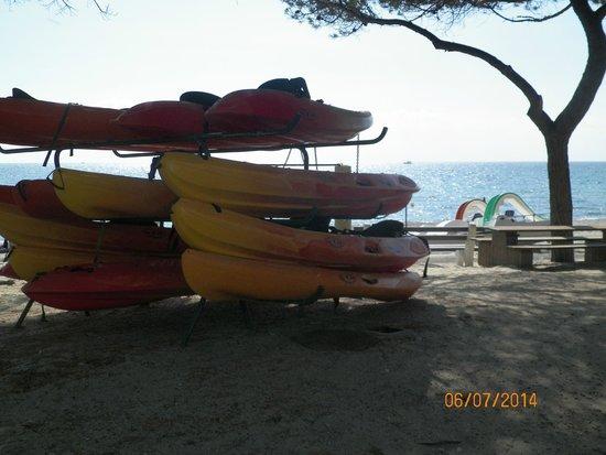 Village Vacances des Isles: location de kayak