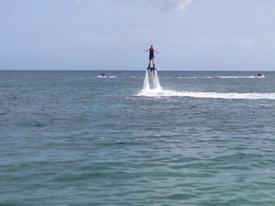 St.Kitts Water Sports : Flyboarding Video: