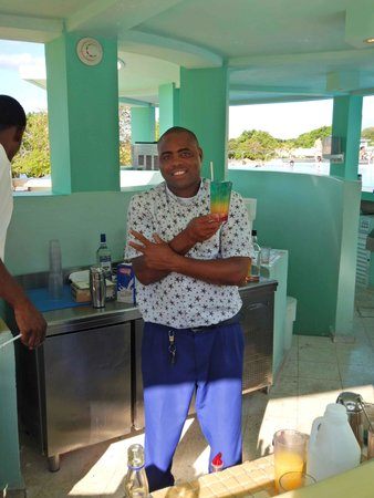 Iberostar Grand Hotel Rose Hall : DALBERT is the man you want to see behind the bar