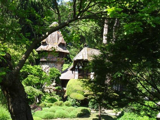 Parc Oriental de Maulevrier : la pagode