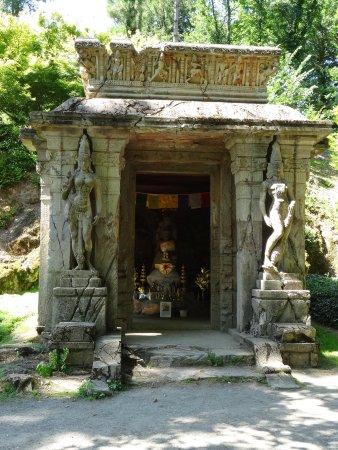 Parc Oriental de Maulevrier : le temple Khmer