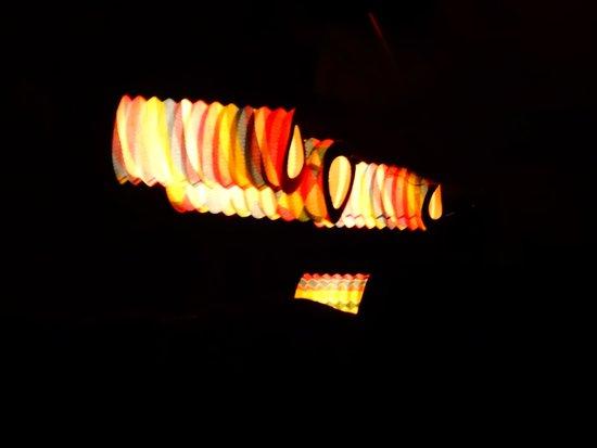 Parc Oriental de Maulevrier : les lampions