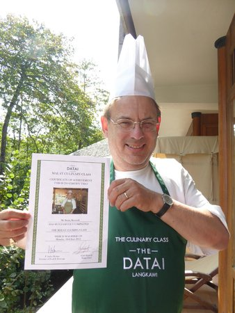 The Datai Langkawi: Cookery Class Certificate