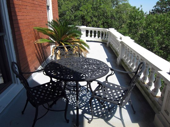 The Kehoe House - A Boutique Inn: Semi-Private Balcony