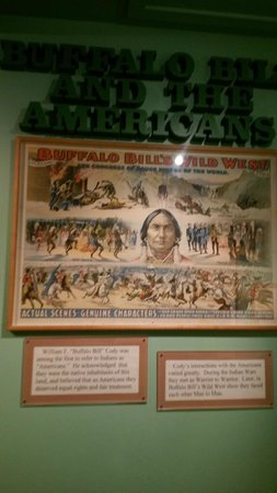 Buffalo Bill Grave and Museum: Read the Small Print below photo