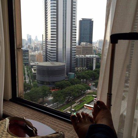 Hyatt Regency Tokyo: Room view