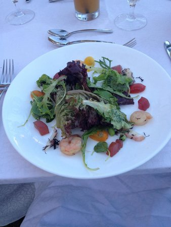 The Royal Hawaiian, a Luxury Collection Resort: Most amazing seafood salad!