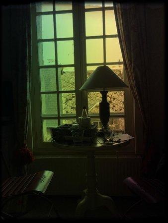 chambre cosy foto de les maisons de lea honfleur. Black Bedroom Furniture Sets. Home Design Ideas