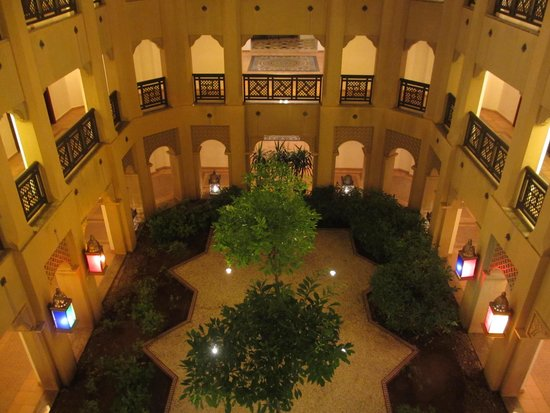 Mazagan Beach & Golf Resort: the corridors