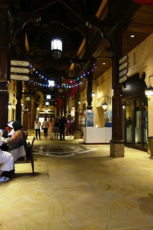 Jumeirah Dar Al Masyaf at Madinat Jumeirah : Souk in the complex
