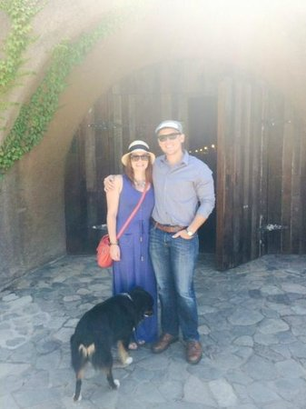 B. Wise Vineyards: Entering the cave!