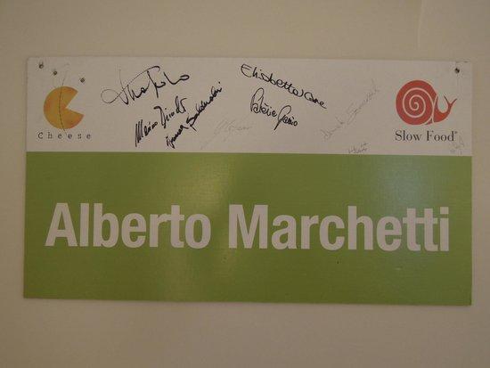 Alberto Marchetti : A plate on 2nd floor