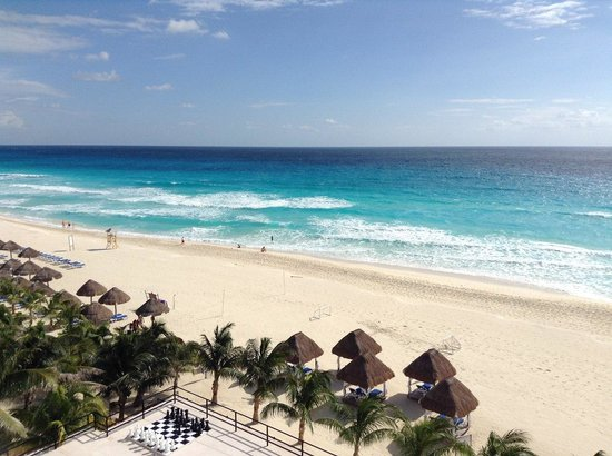 Flamingo Cancun Resort: Вид на океан