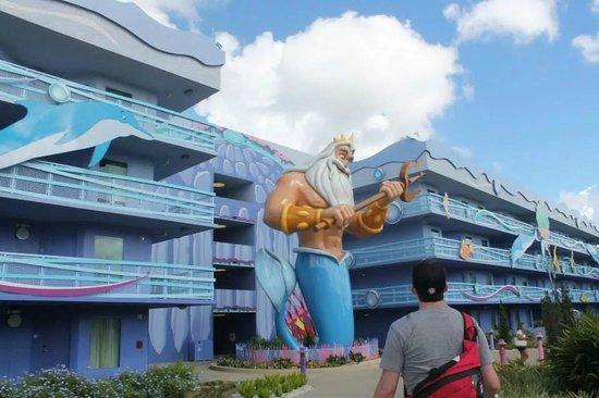 Disney's Art of Animation Resort: Little Mermaid building (1 of 3)