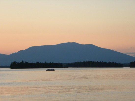 5 Lakes Lodge: Katahdin sunset