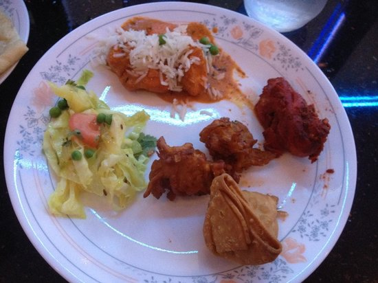 Kohinoor: Plate from Buffet