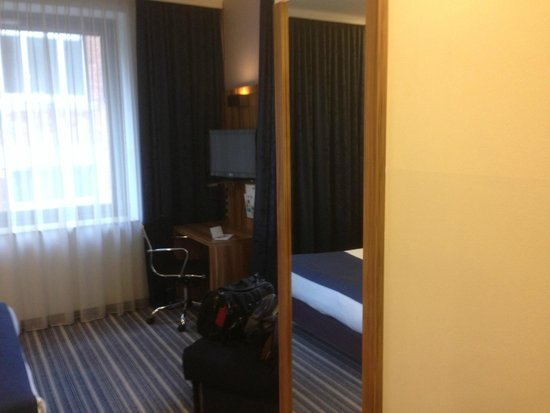 Holiday Inn Express Frankfurt City Hauptbahnhof: Zimmer