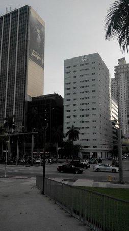 YVE Hotel Miami: Вид на отель