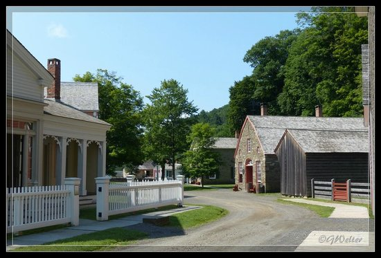 The Farmers' Museum: Strolling through the village