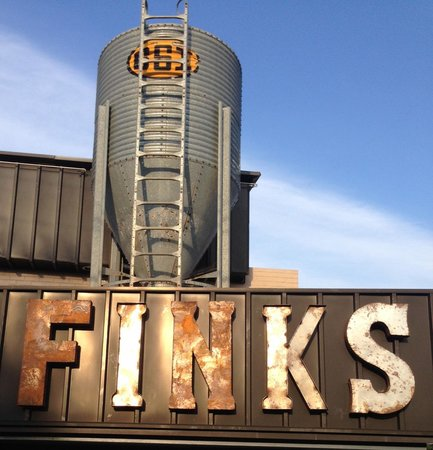 Fink's Craft Bar & Grill: Our Landmark. Look for it!