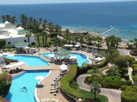 Hyatt Regency Sharm El Sheikh Resort : Pool and sea view