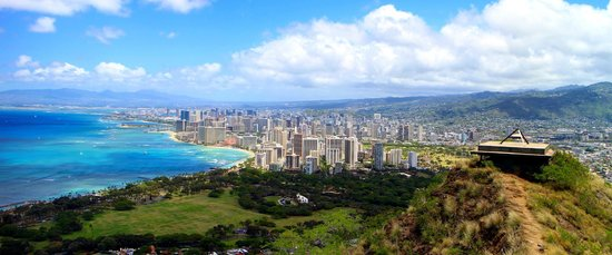 Diamond Head State Monument: View from the top :D