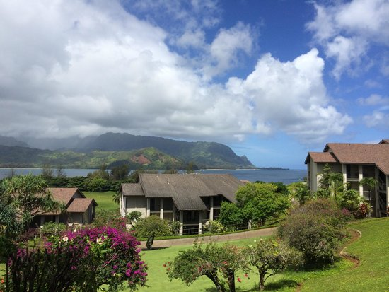 Hanalei Bay Resort : View from the Lanai
