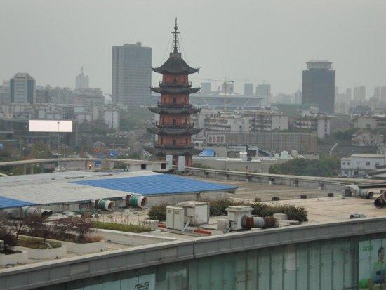 Sofitel Guangzhou Sunrich : Вид вечером