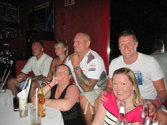 Coco Bongo Cancun: friends