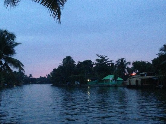Kerala Backwaters: view