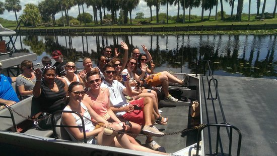 Florida Dolphin Tours - Day Tours : Boggy Creek Airboat Tour