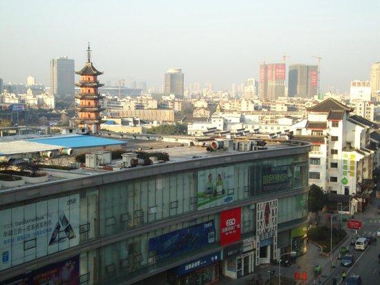 Sofitel Guangzhou Sunrich: Вид утром
