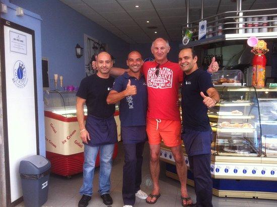 Cafeteria  Borbone: Thanks ser!